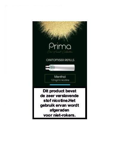 Prima Menthol 12 mg