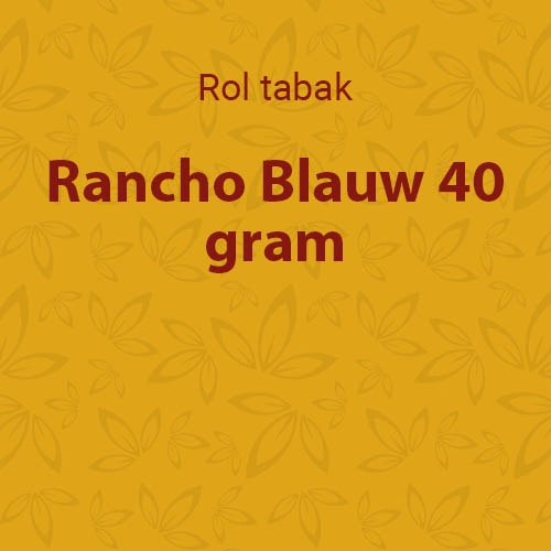 Rancho shag blauw 40 gram (10 pakken)