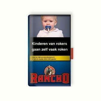 Rancho shag rood 40 gram (10 pakken)