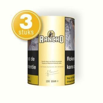 Rancho shag geel 150 gram (3 pakken)