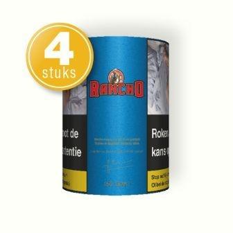 Rancho shag rood 150 gram (4 pakken)
