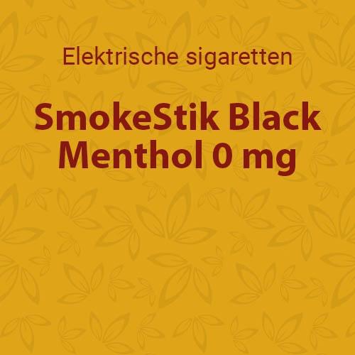 SmokeStik Black Menthol 0 mg
