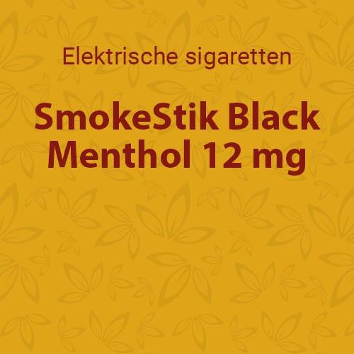 SmokeStik Black Menthol 12 mg