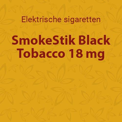 SmokeStik Black Tobacco 18 mg