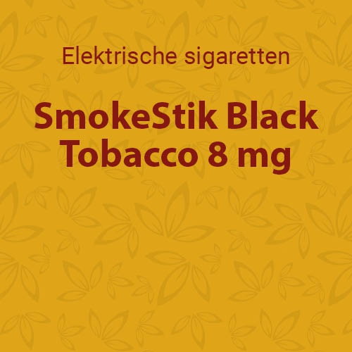 SmokeStik Black Tobacco 8 mg