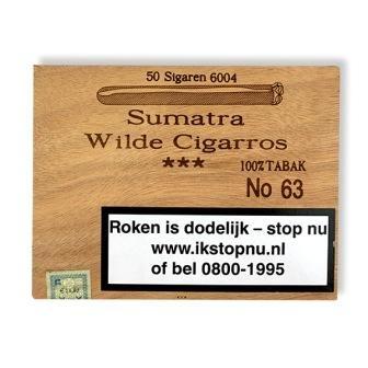 Hoogeboom No. 63 Sumatra Wilde Cigarros (50x)