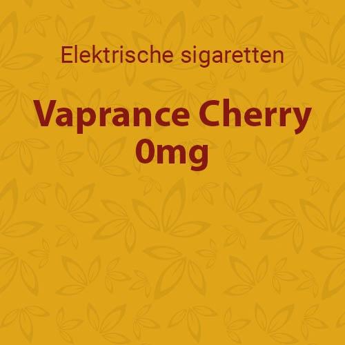 Vaprance Cherry 0mg - 10 flesjes