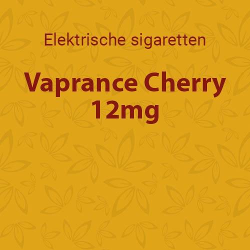 Vaprance Cherry 12mg - 10 flesjes