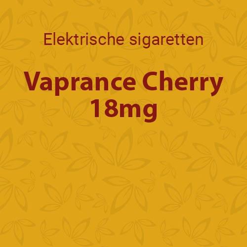 Vaprance Cherry 18mg - 10 flesjes