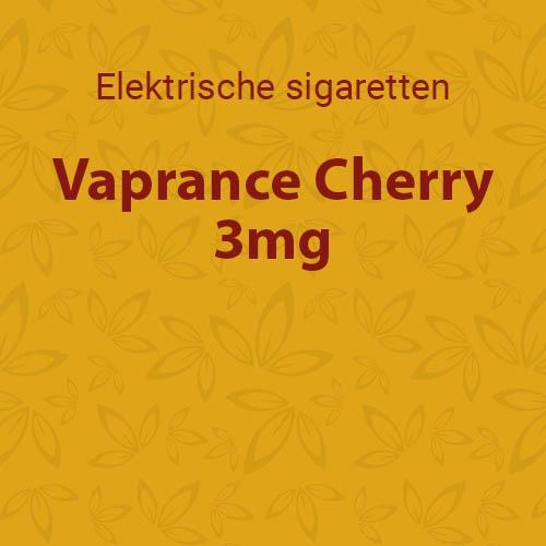 Vaprance Cherry 3mg - 10 flesjes
