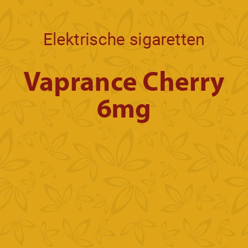 Vaprance Cherry 6mg - 10 flesjes