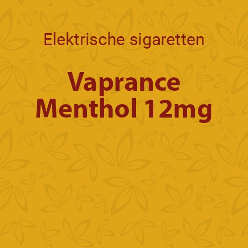 Vaprance Menthol 12mg - 10 flesjes