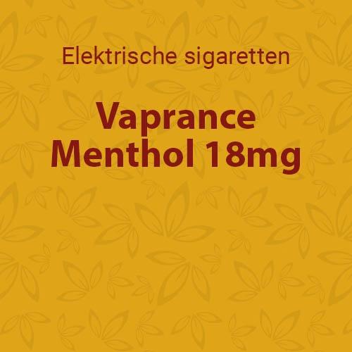 Vaprance Menthol 18mg - 10 flesjes