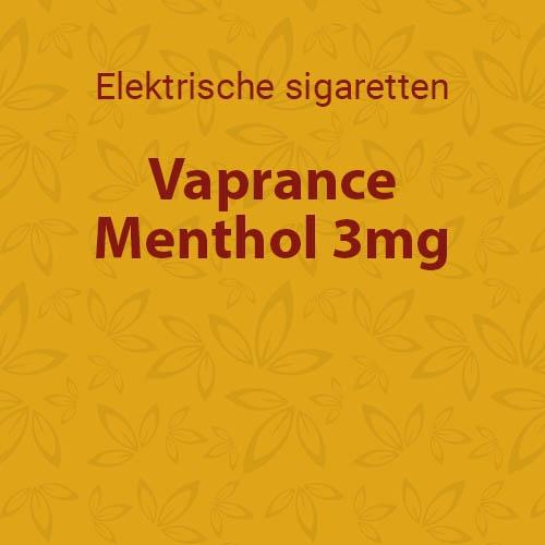 Vaprance Menthol 3mg - 10 flesjes