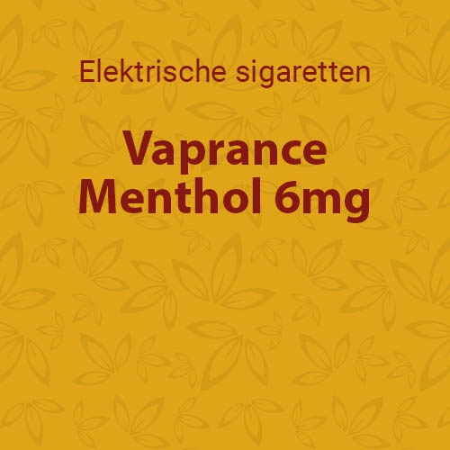 Vaprance Menthol 6mg - 10 flesjes