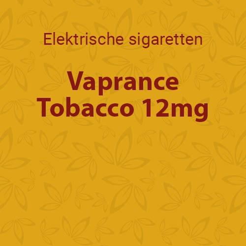 Vaprance Tobacco 12mg - 10 flesjes