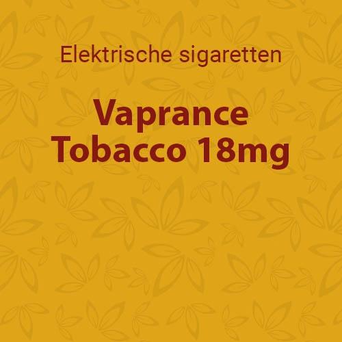 Vaprance Tobacco 18mg - 10 flesjes