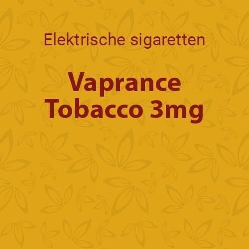 Vaprance Tobacco 3mg - 10 flesjes