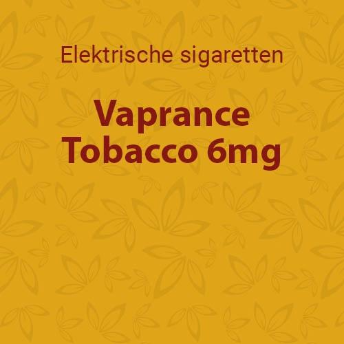 Vaprance Tobacco 6mg - 10 flesjes