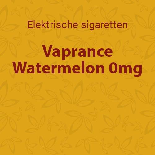 Vaprance Watermelon 0mg - 10 flesjes