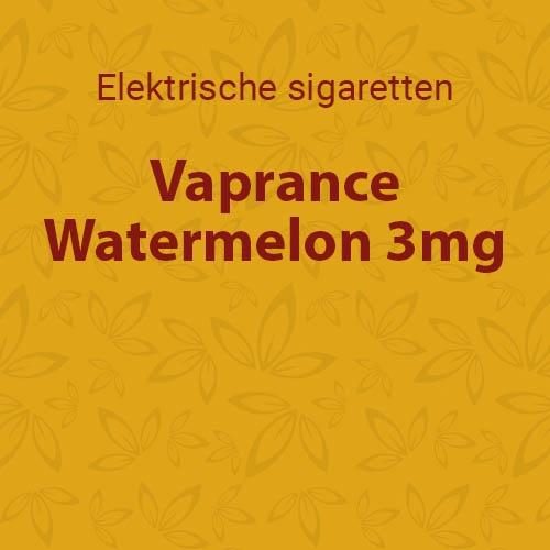 Vaprance Watermelon 3mg - 10 flesjes