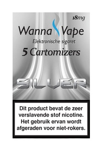 Wanna Vape Silver 18 mg.