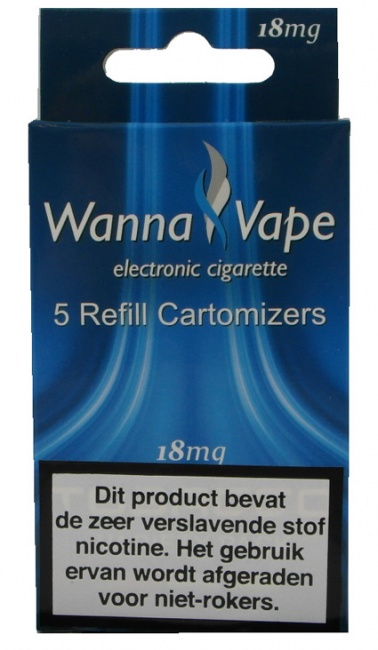 Wanna Vape Tobacco Variety pack 18 mg.