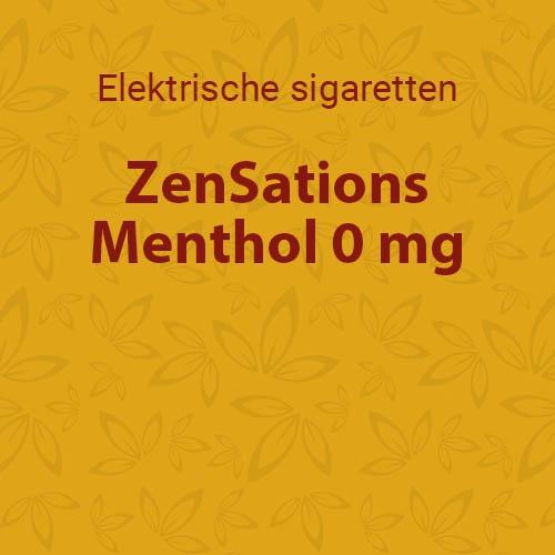 Menthol 0 mg