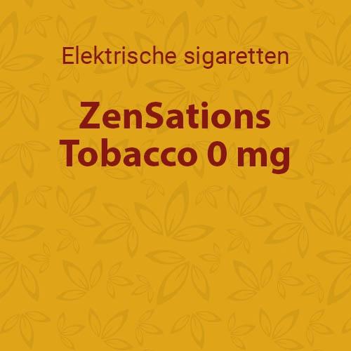 Tobacco 0 mg