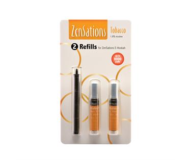 Zensations Tabak zonder nicotine