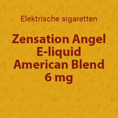 E-liquid American Blend 6 mg