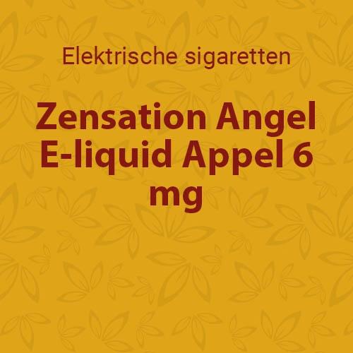 E-liquid Appel 6 mg