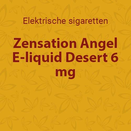 E-liquid Desert 6 mg