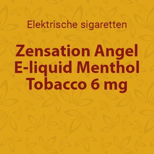 E-liquid Menthol Tobacco 6 mg
