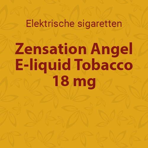 E-liquid Tobacco 18 mg