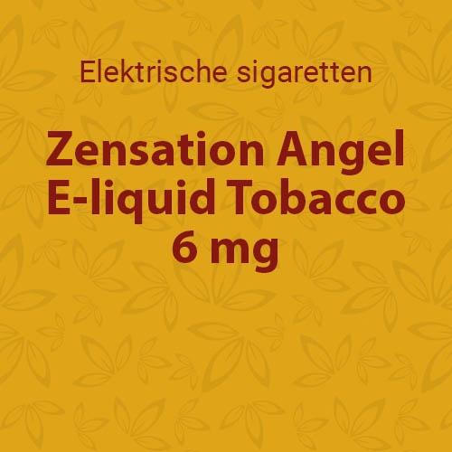 E-liquid Tobacco 6 mg