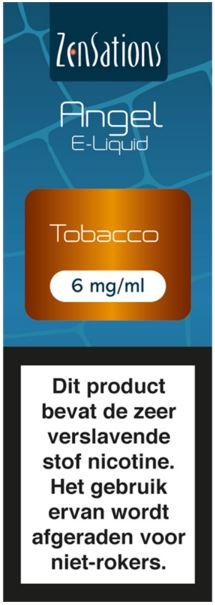 E-liquid Tobacco 6 mg