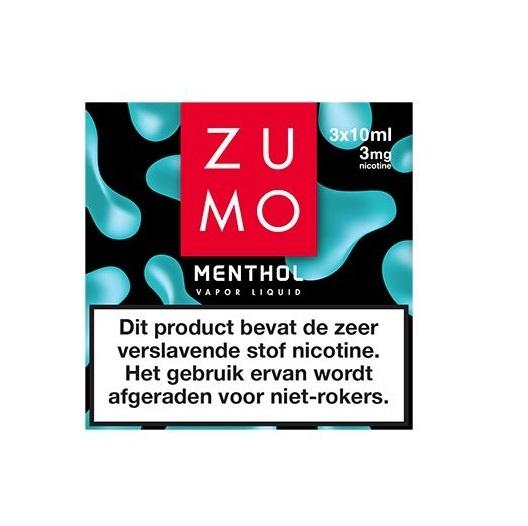Zumo Menthol 3mg / 3-pack
