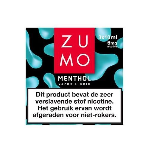 Zumo Menthol 6mg / 3-pack