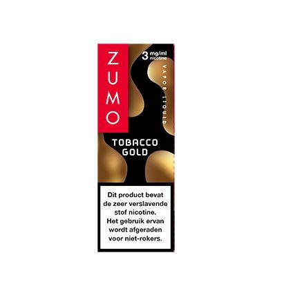 Zumo Tobacco Gold 3mg