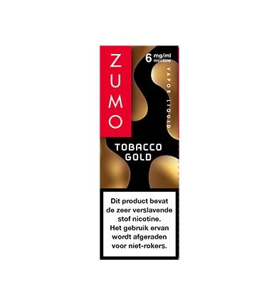 Zumo Tobacco Gold 6mg