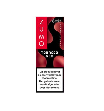 Zumo Tobacco Red 3mg