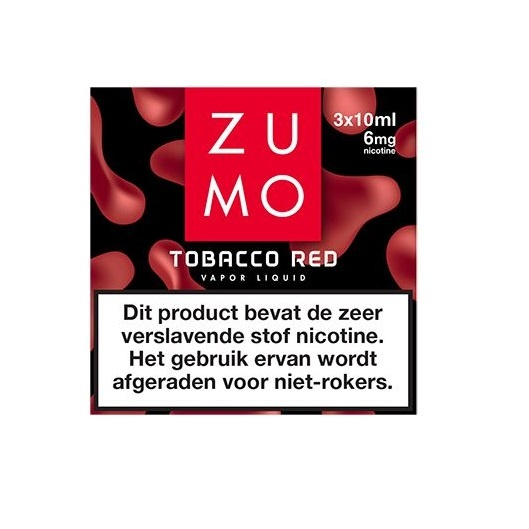 Zumo Tobacco Red 6mg / 3-pack