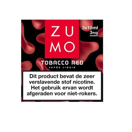 Zumo Tobacco Red 3mg / 3-pack
